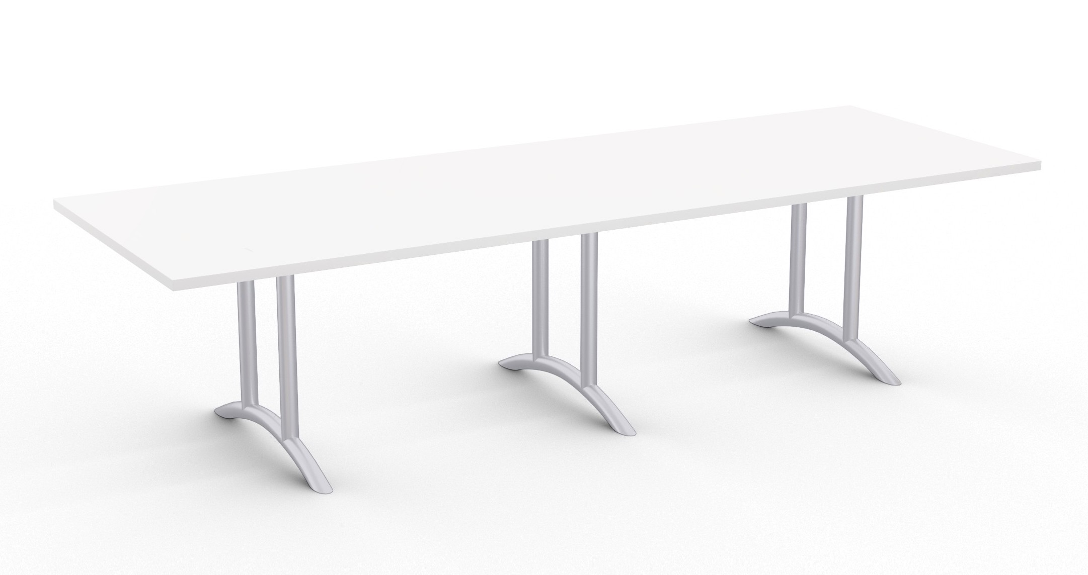 large white boardroom table