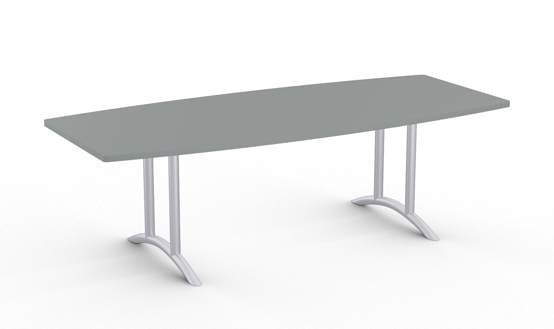 oscar boat shaped boardroom table