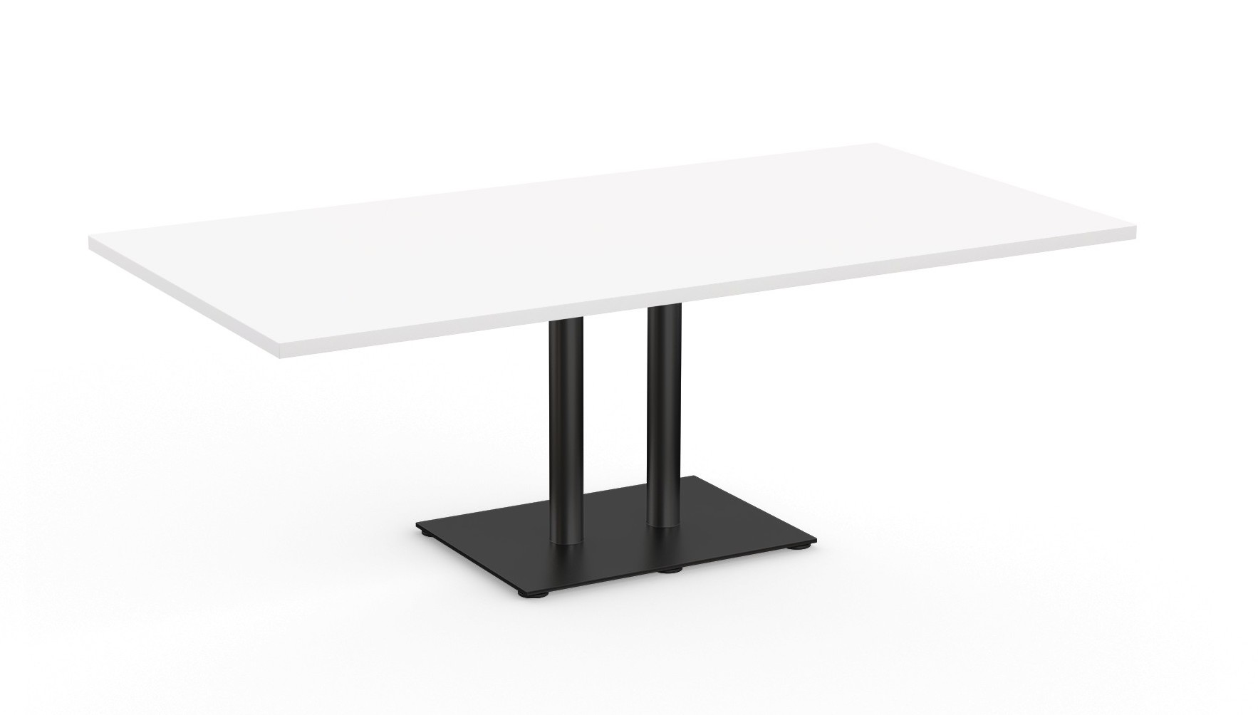 sienna modern column base conference table