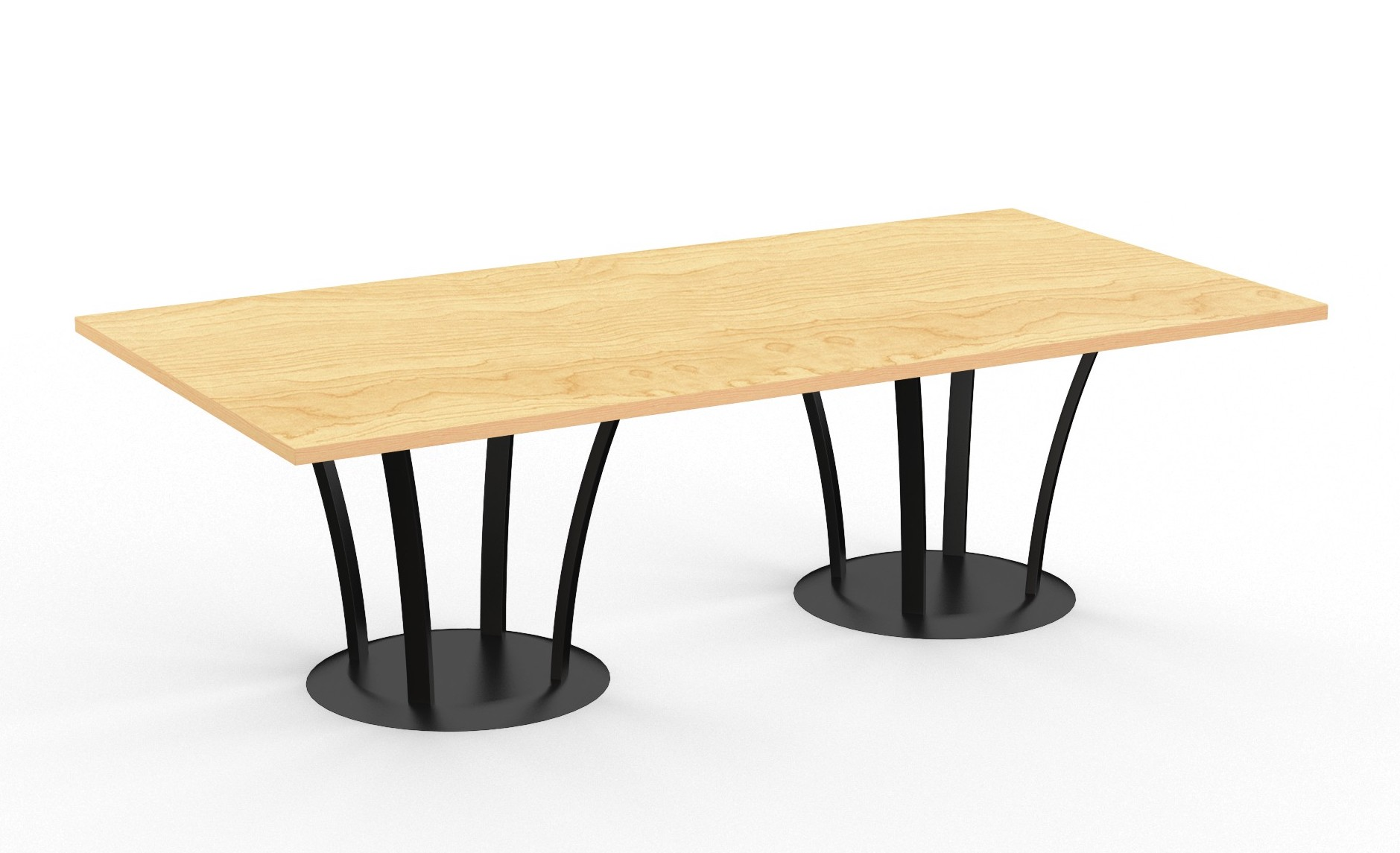 structure fountain rectangular table