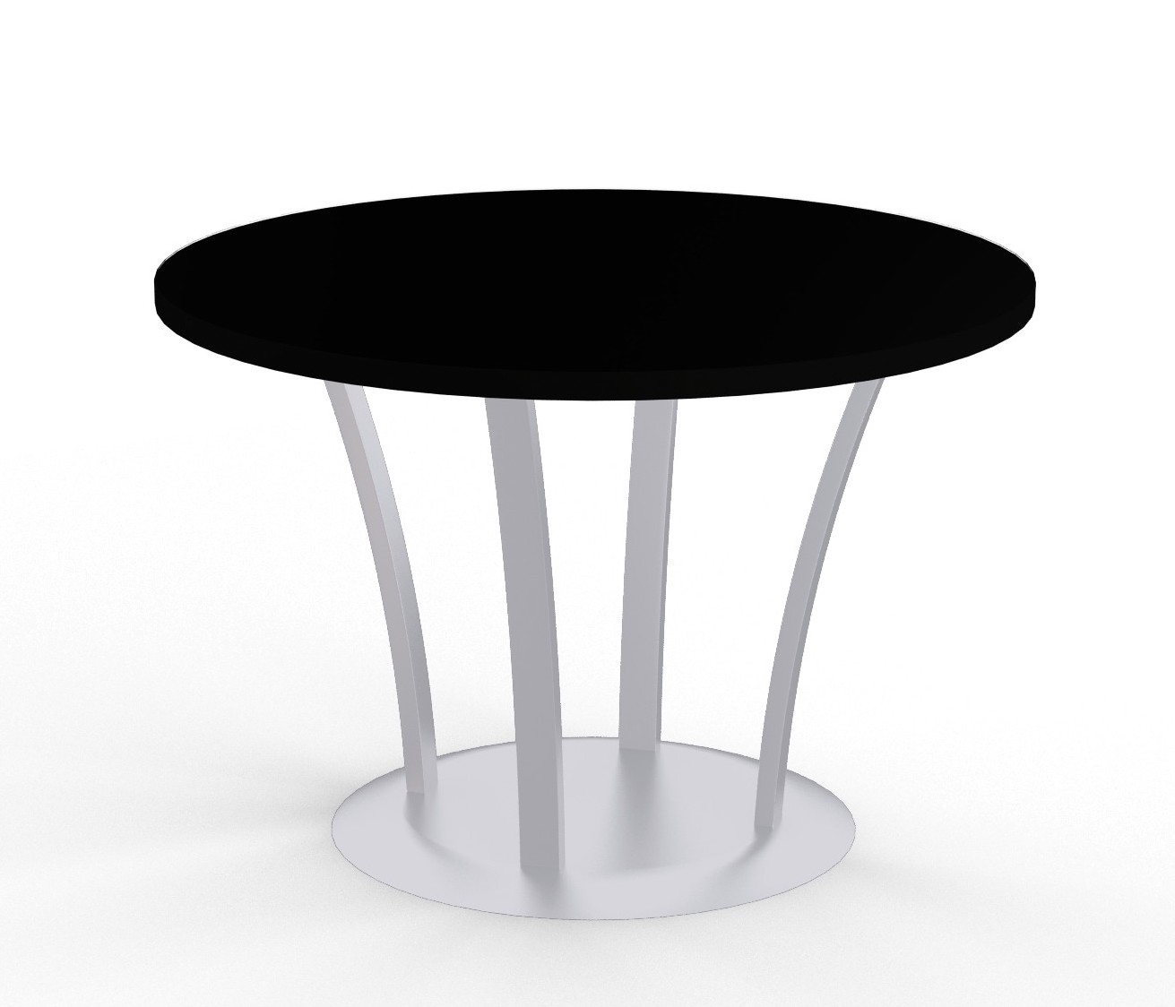 structure fountain base round table