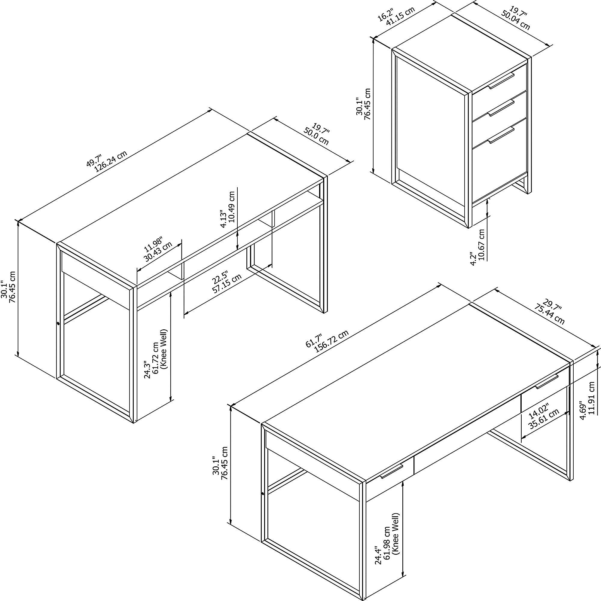 atr002 desk dimensions