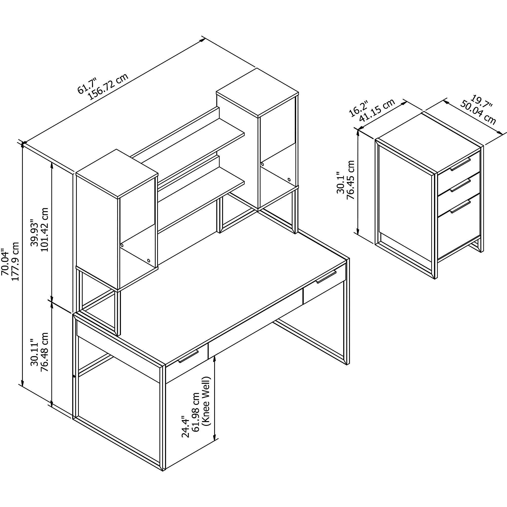 kathy ireland atria components and dimensions