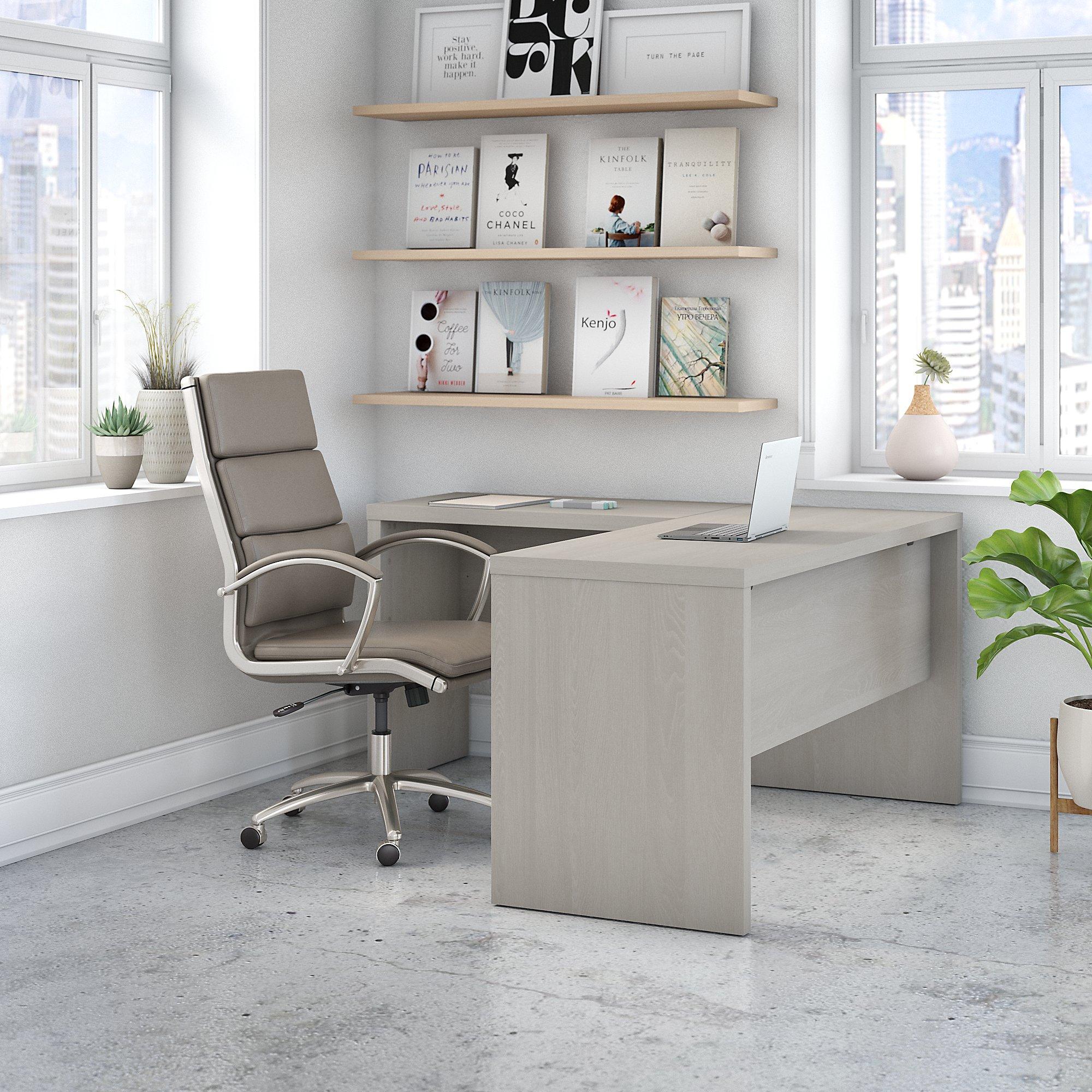 gray sand echo l desk