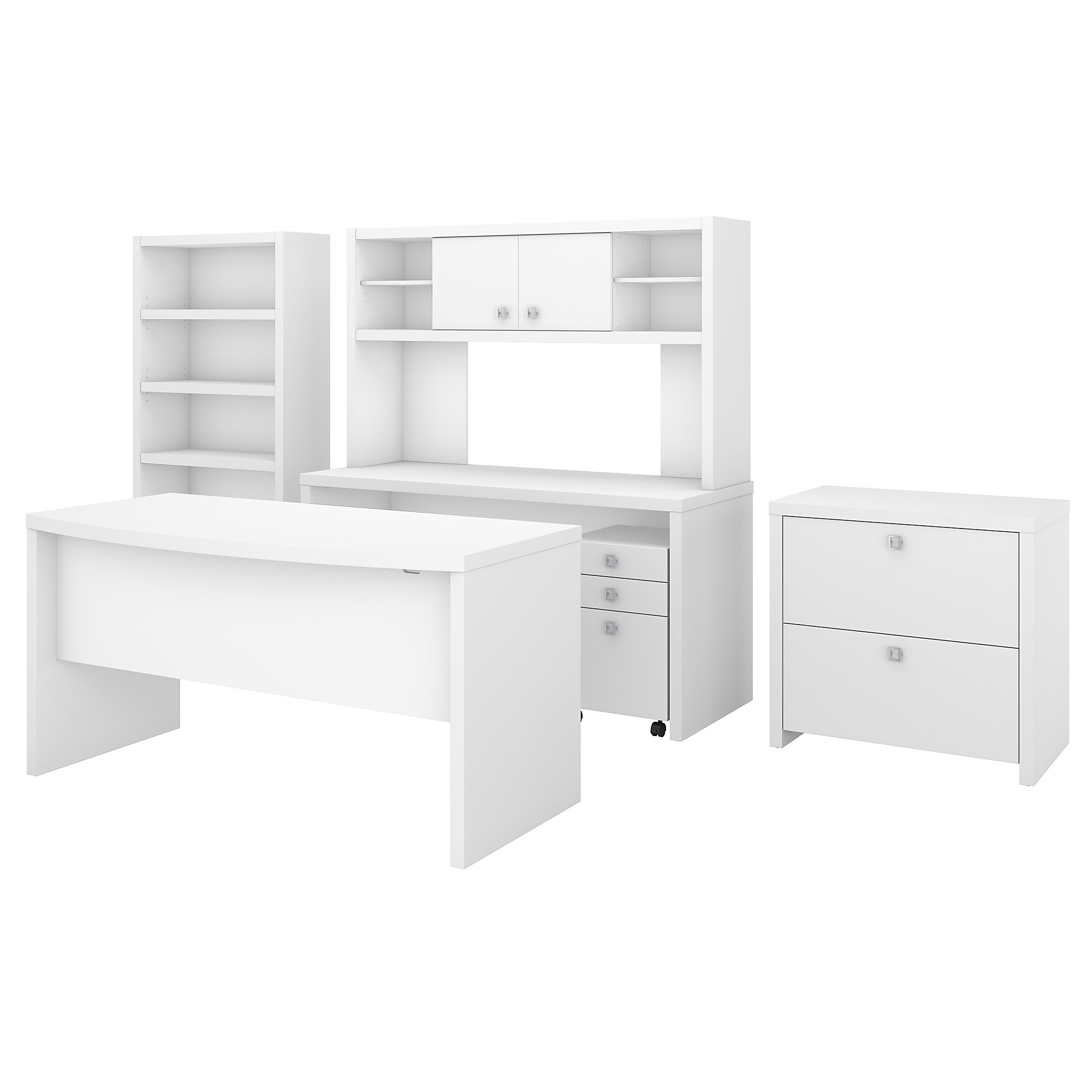 pure white executive office suite