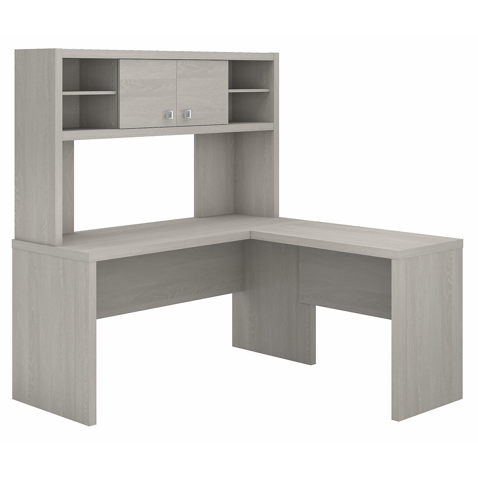 echo l desk with hutch