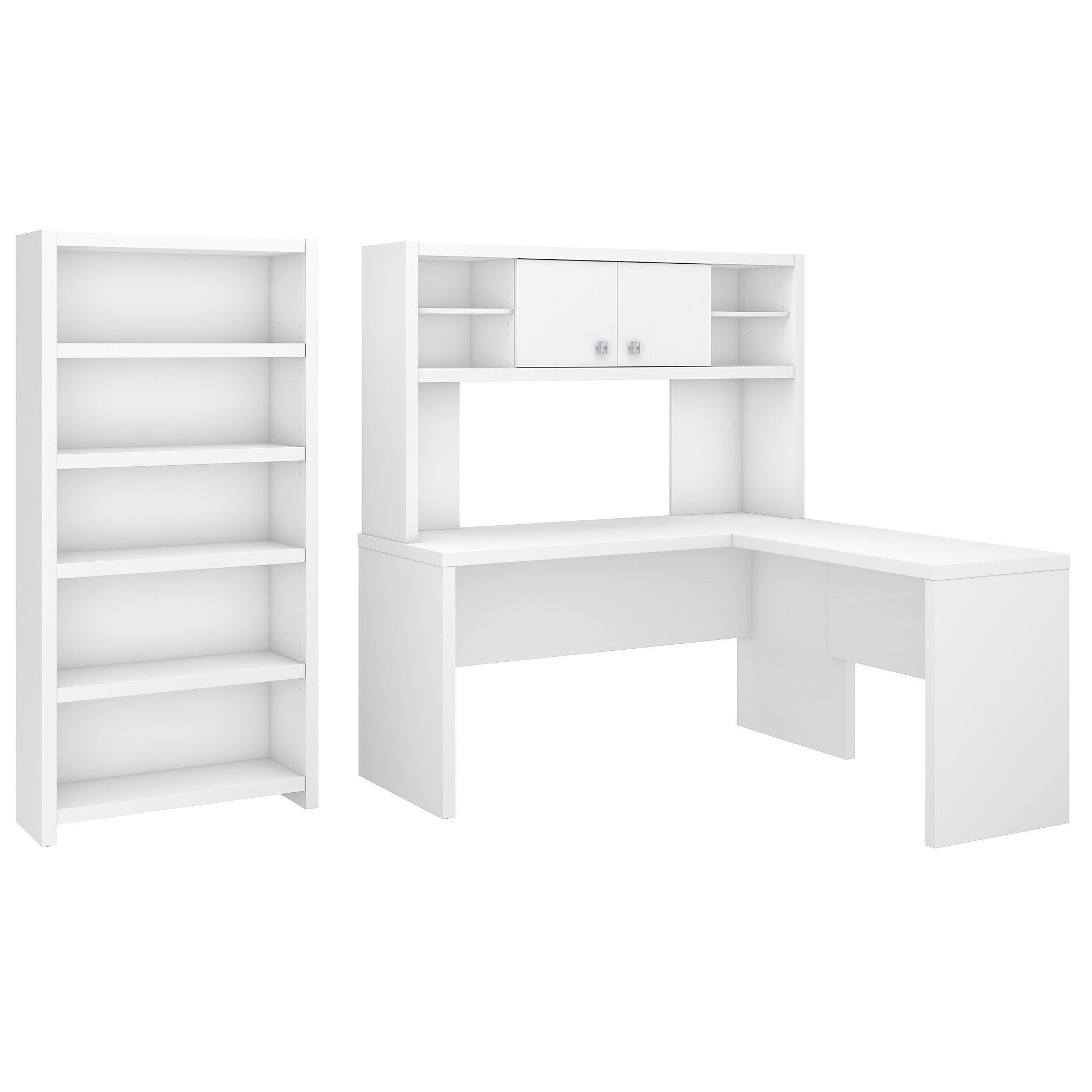 pure white echo desk configuration ech033