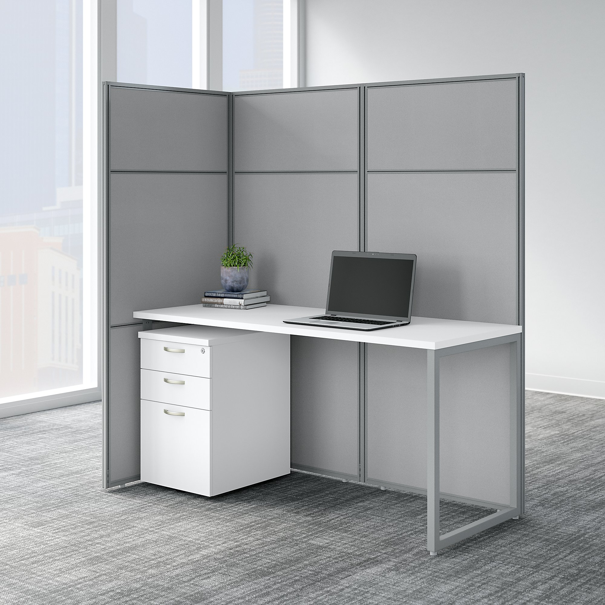 easy office single user cubicle