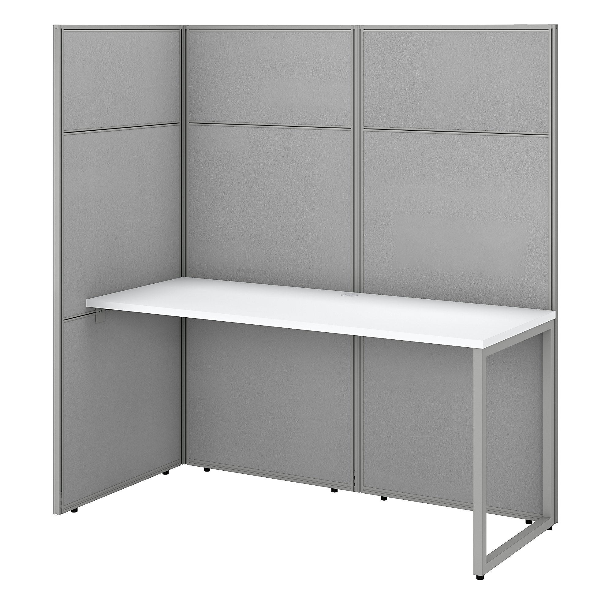 open concept privacy cubicle