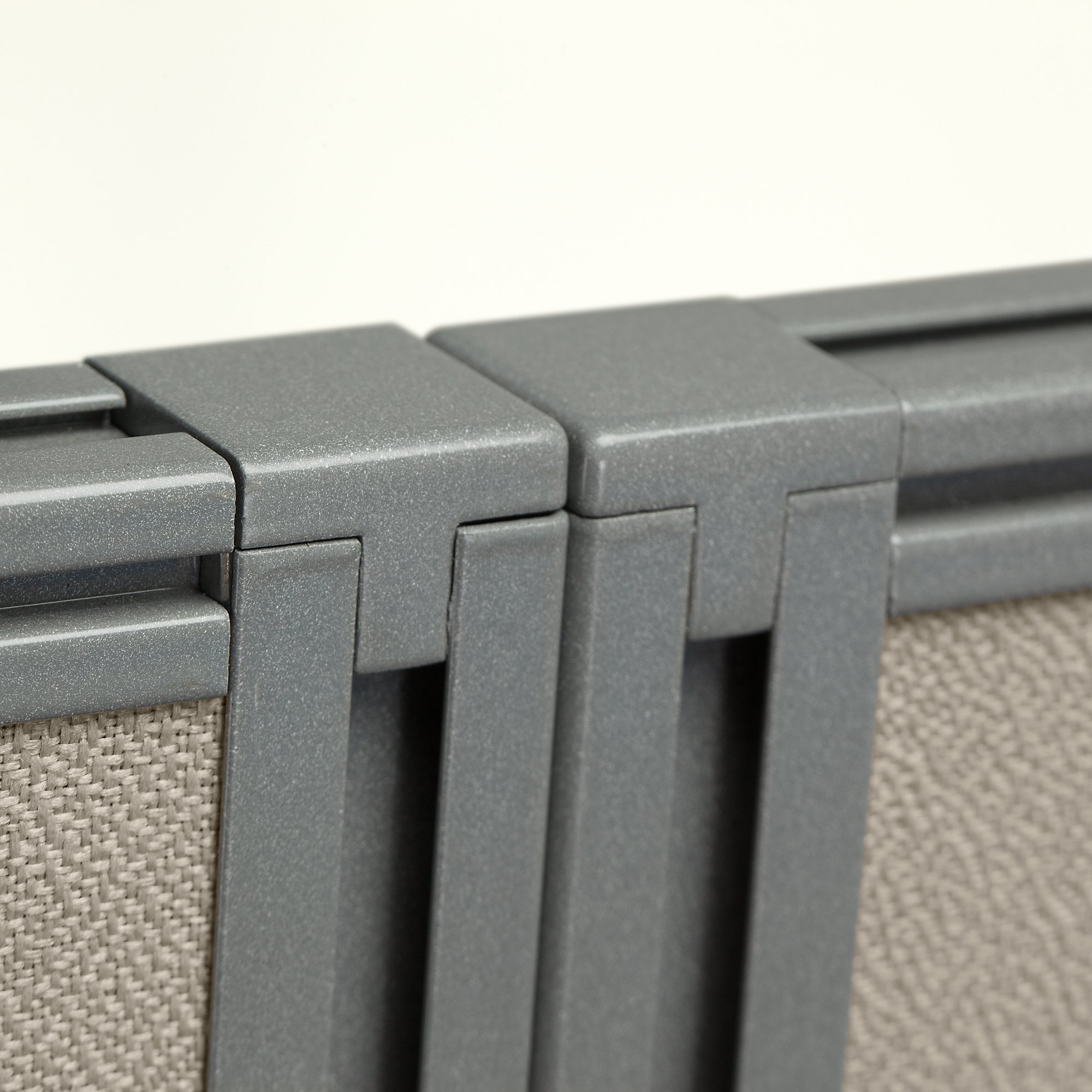 cubicle panel connections