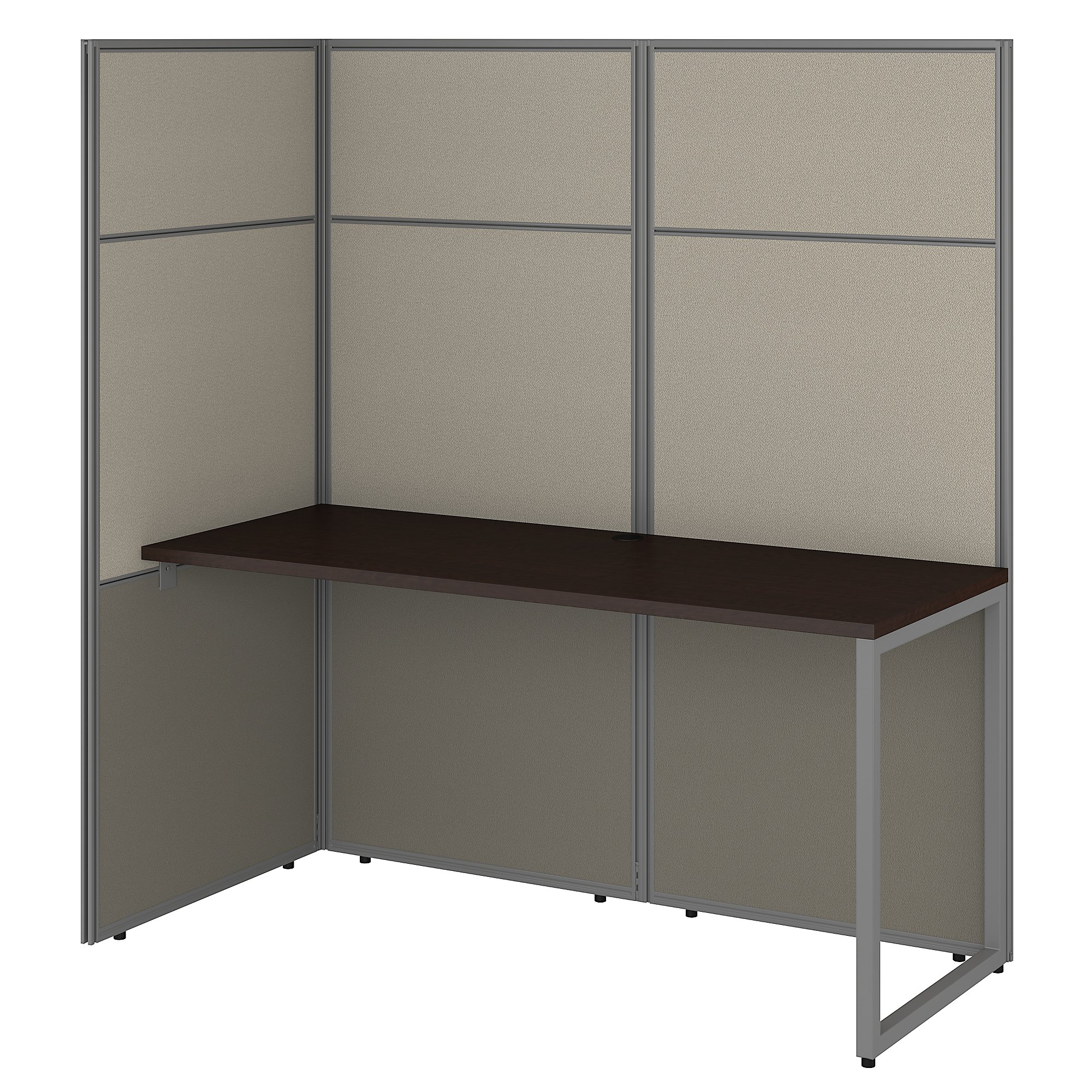 open concept single user cubicle