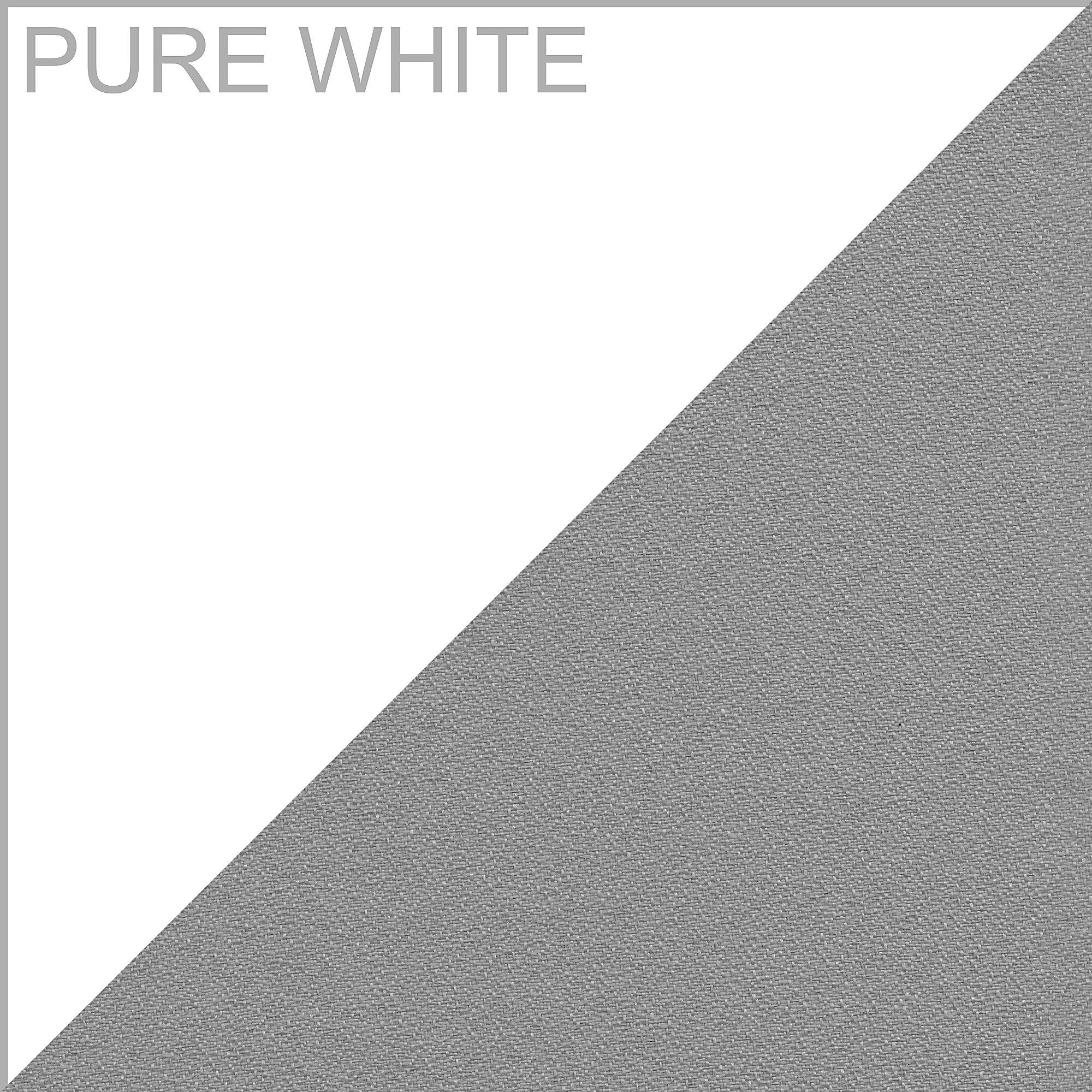 pure white finish sample