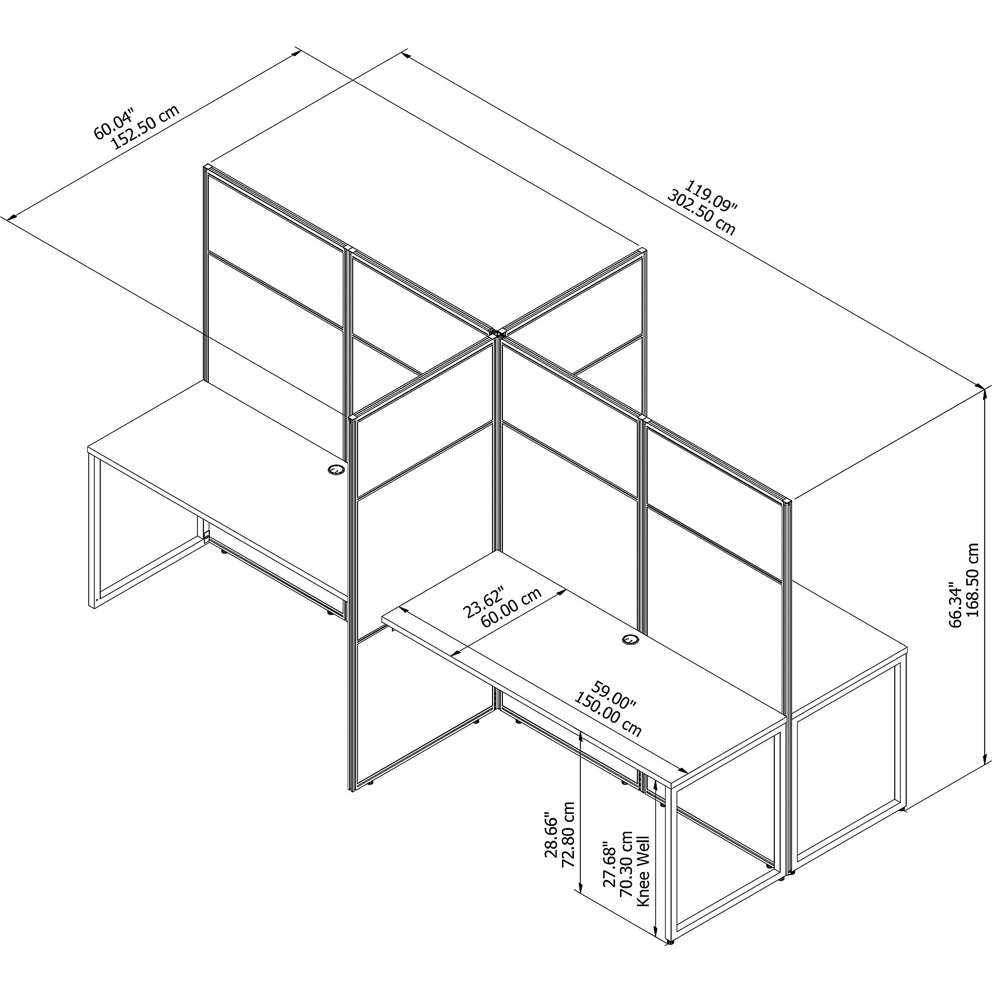 eodh660 line drawing and dimensions