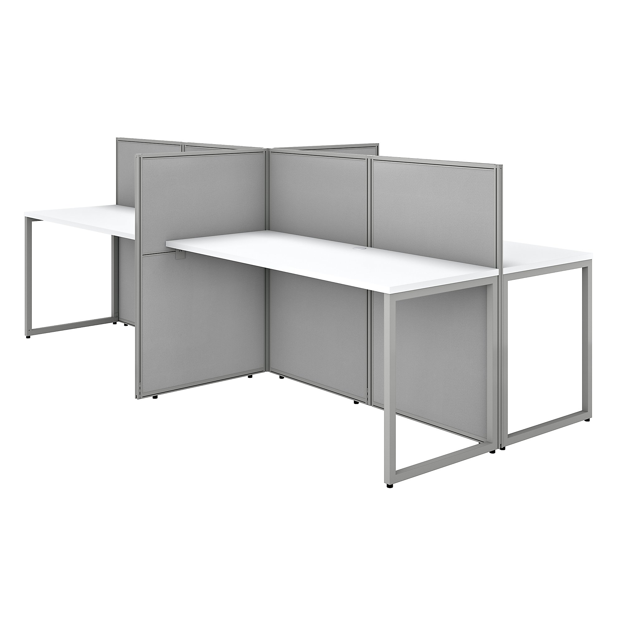 easy office 4 person cubicle