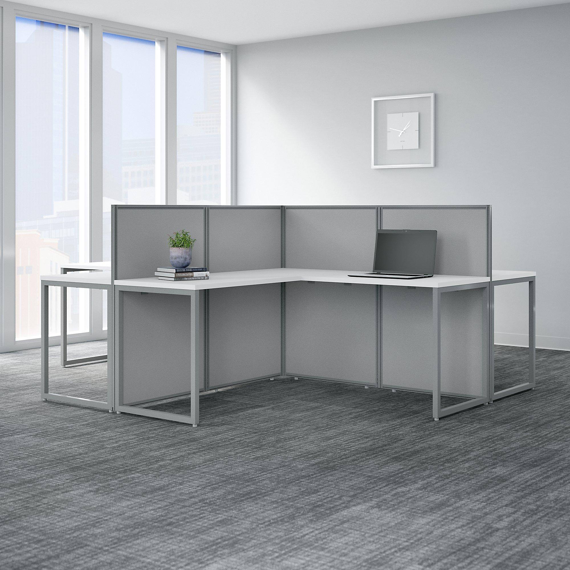 4 person cubicle configuration
