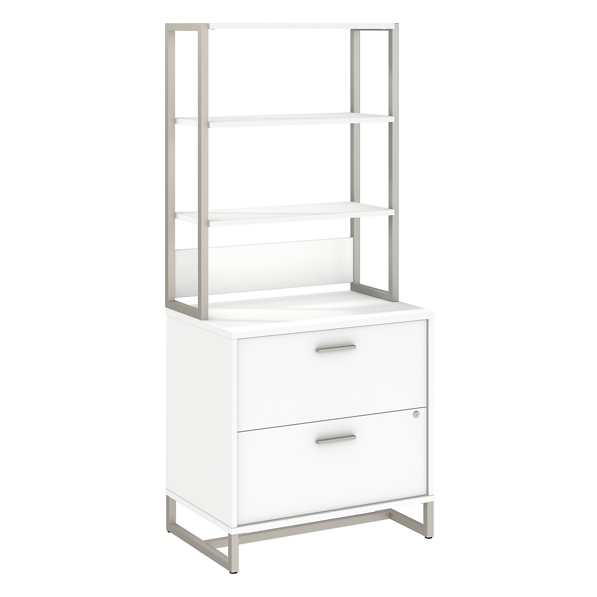 white kathy ireland wall cabinet