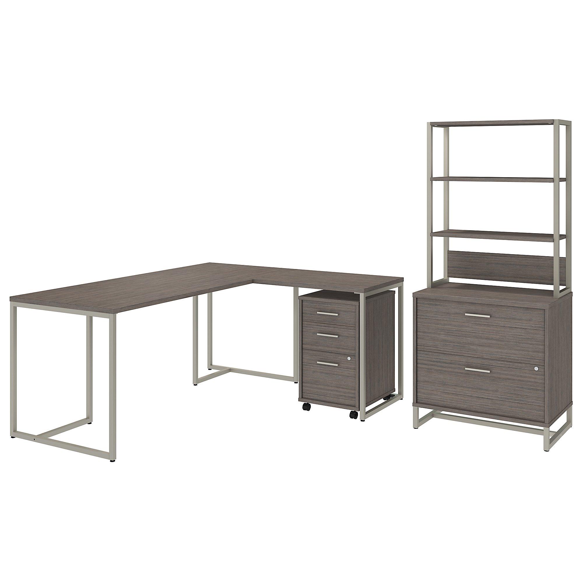 kathy ireland method executive furniture set in cocoa