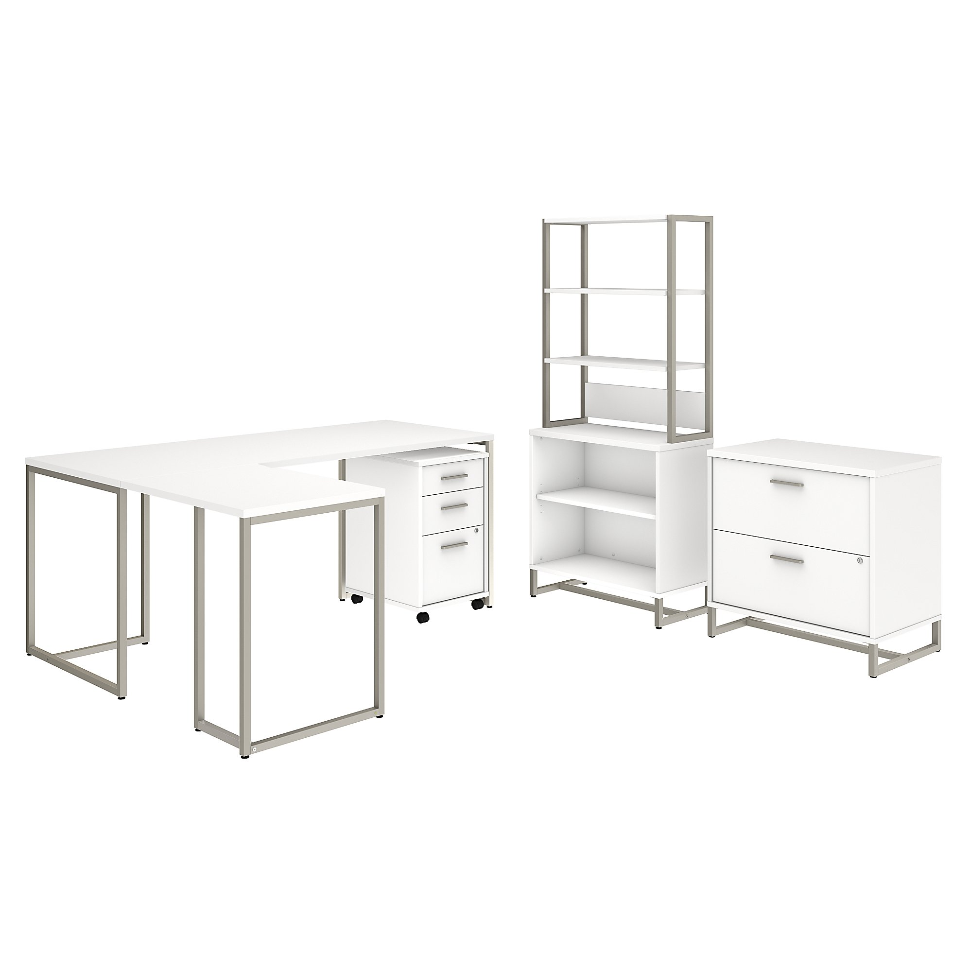 method collection office furniture set in white
