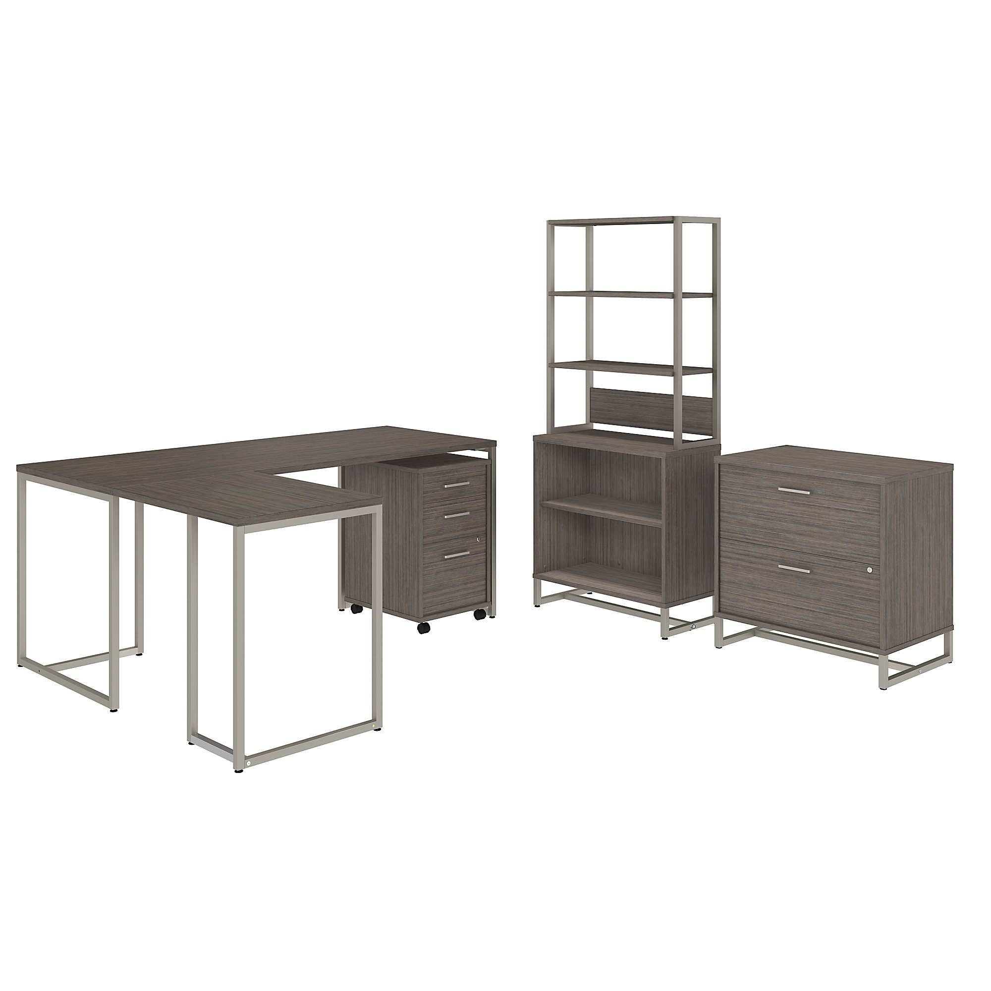 method collection office furniture set in cocoa