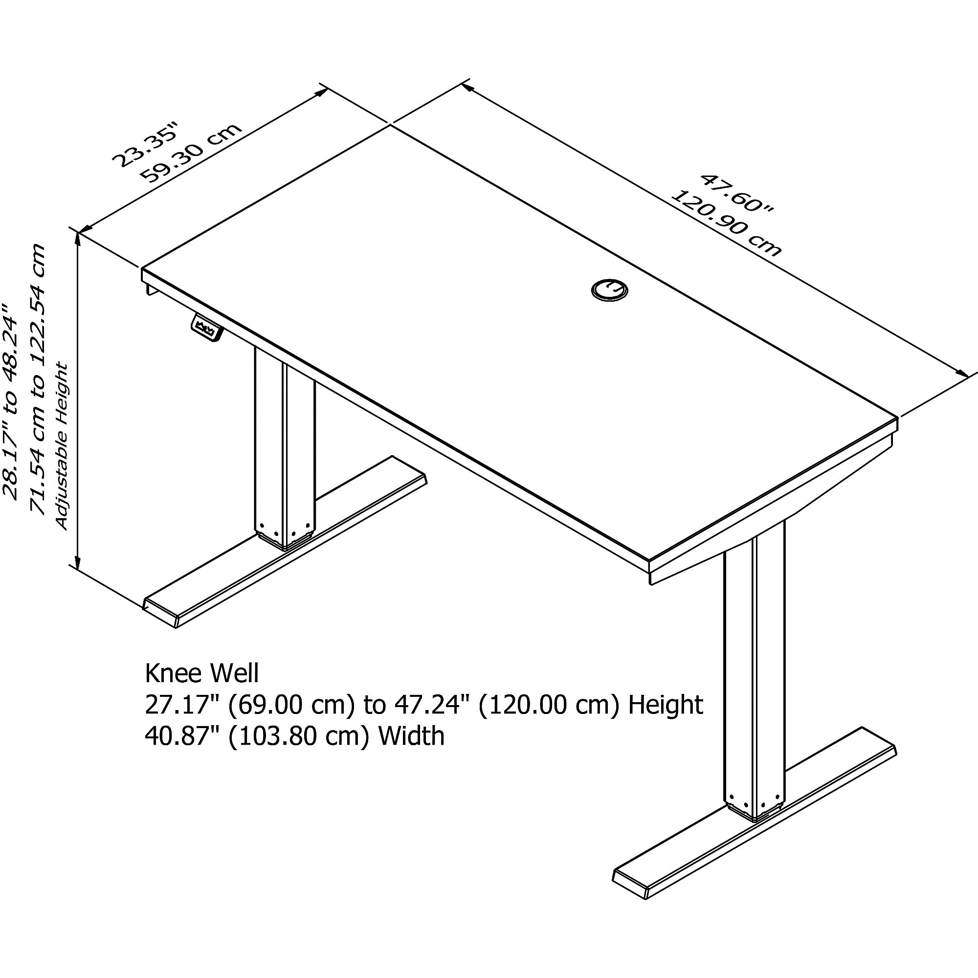 move 40 table dimensions