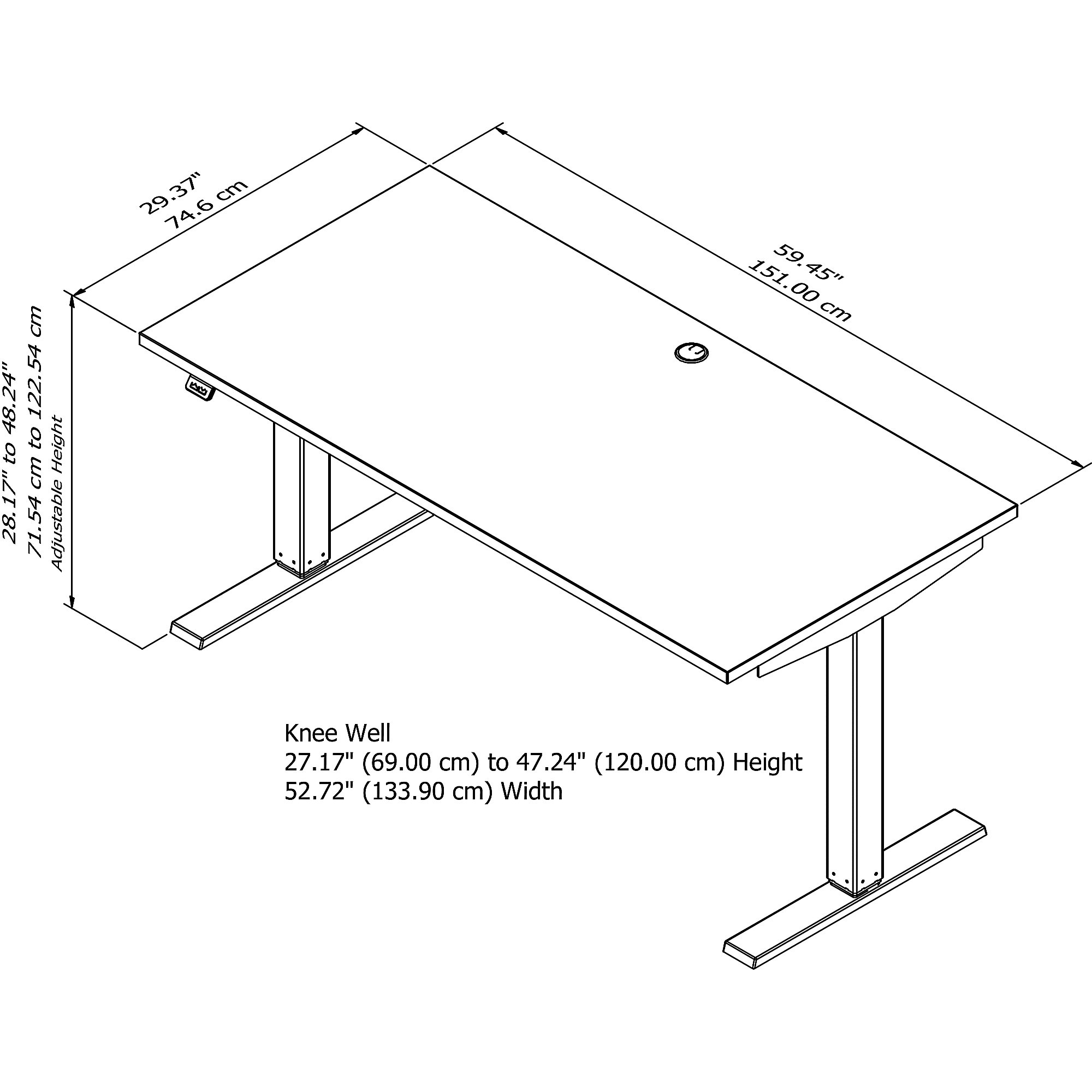 move 40 table dimensions