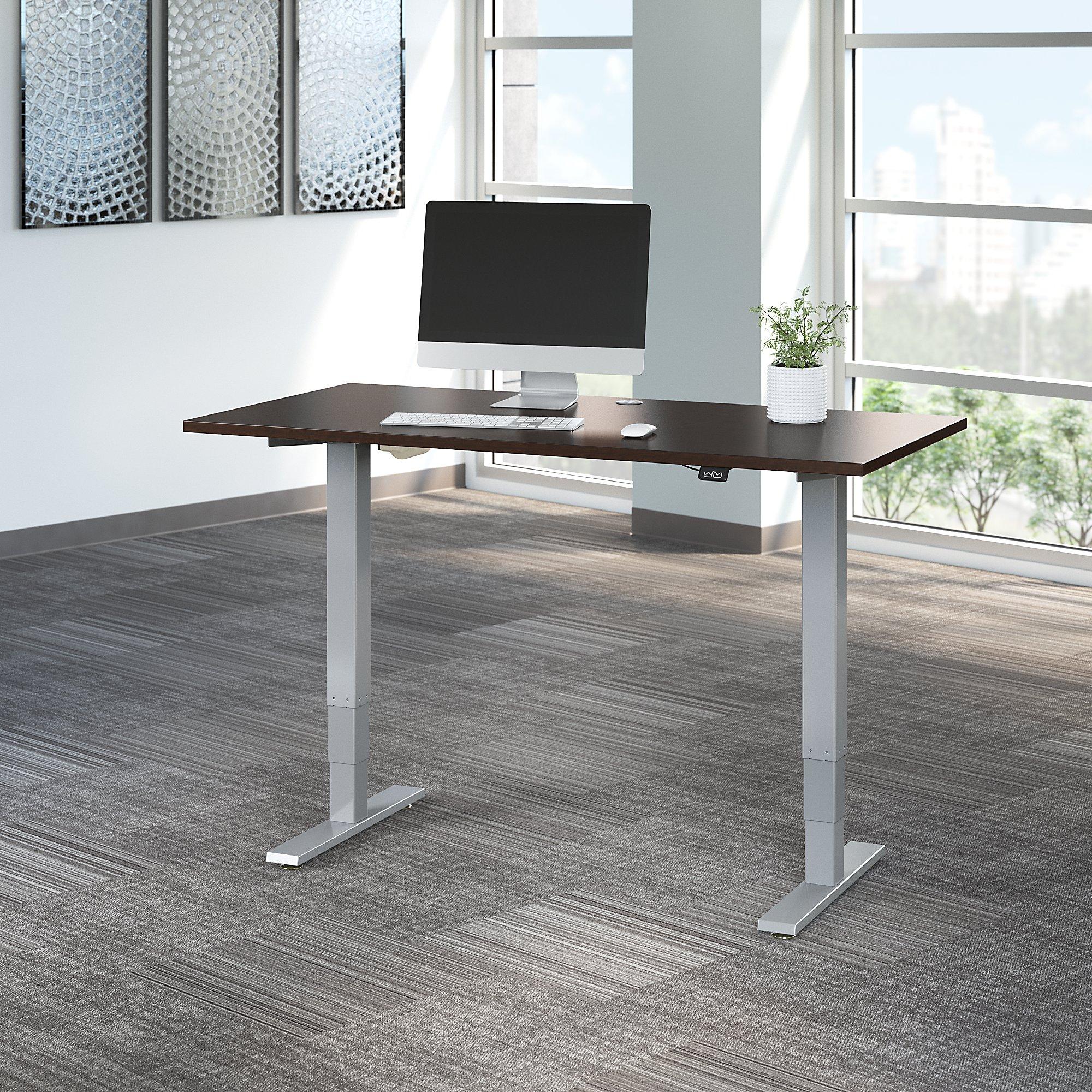 mocha cherry move 40 adjustable height table