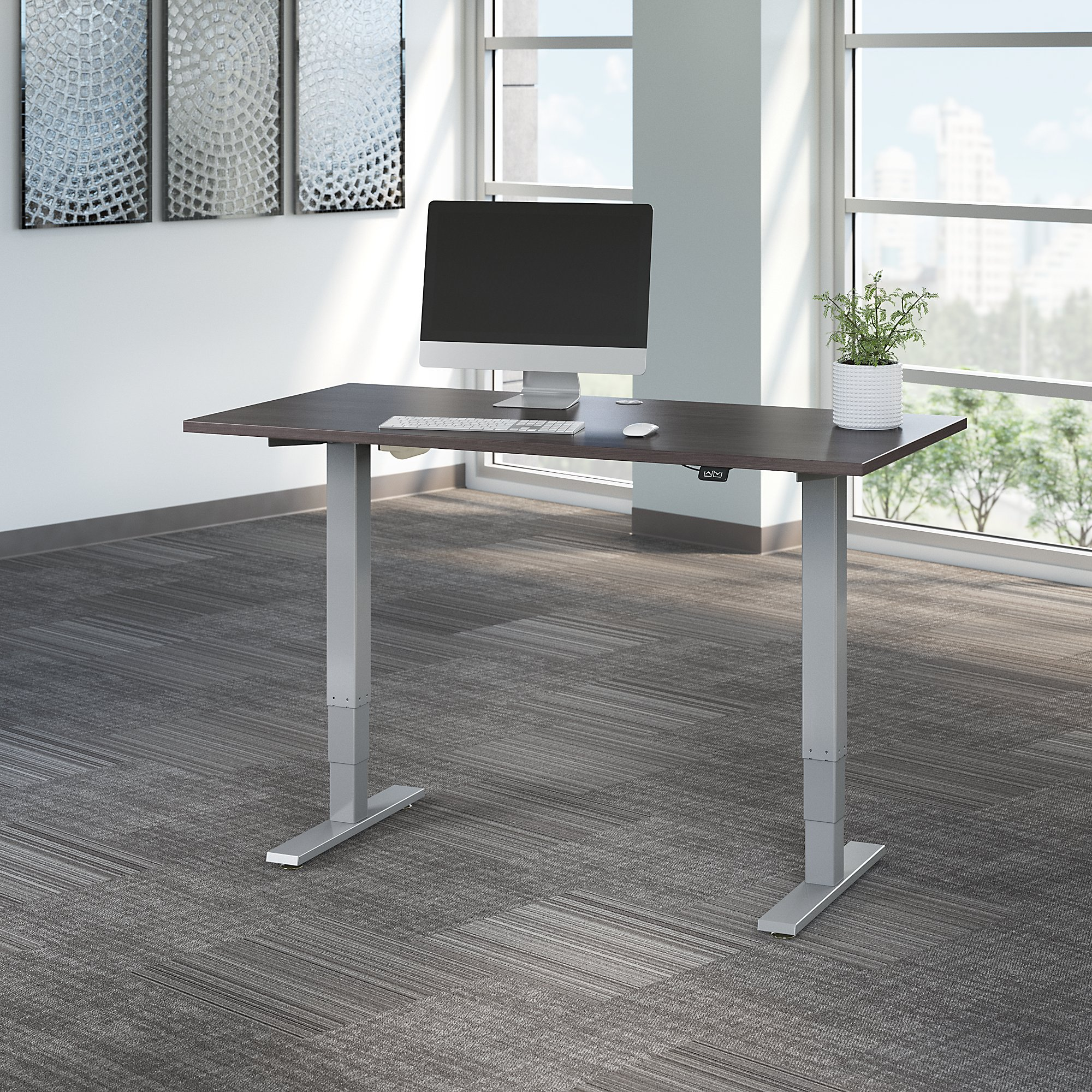 storm gray move 40 adjustable height table