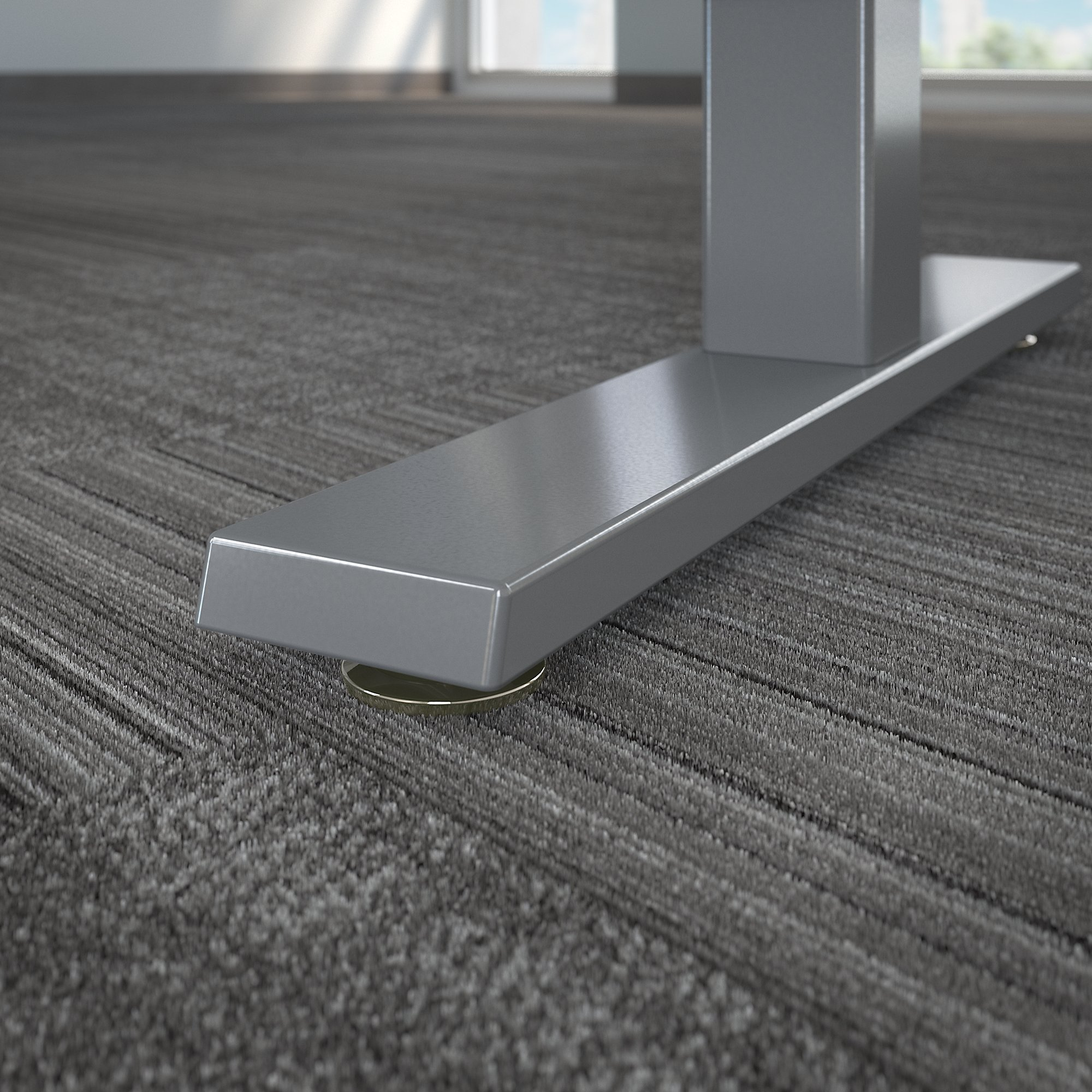move 40 72x30 adjustable height desk base