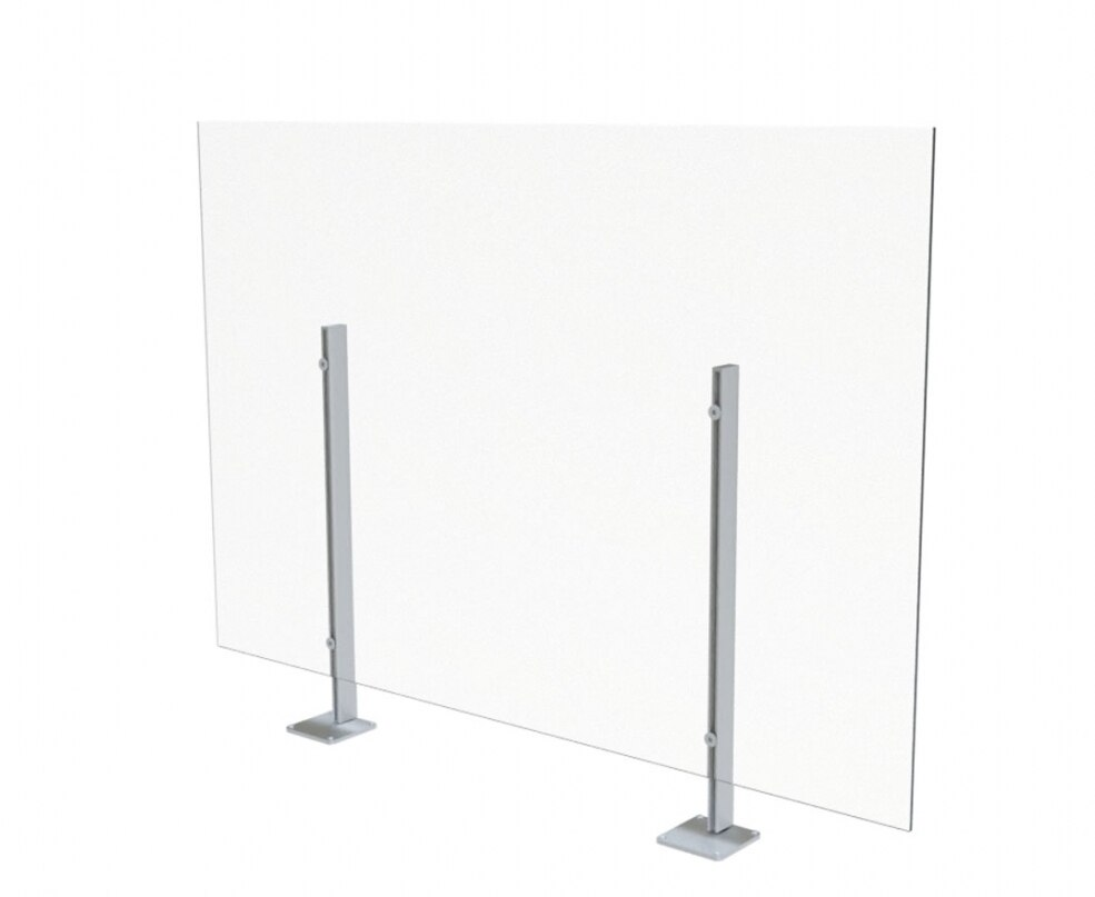 clear acrylic surface mount screen