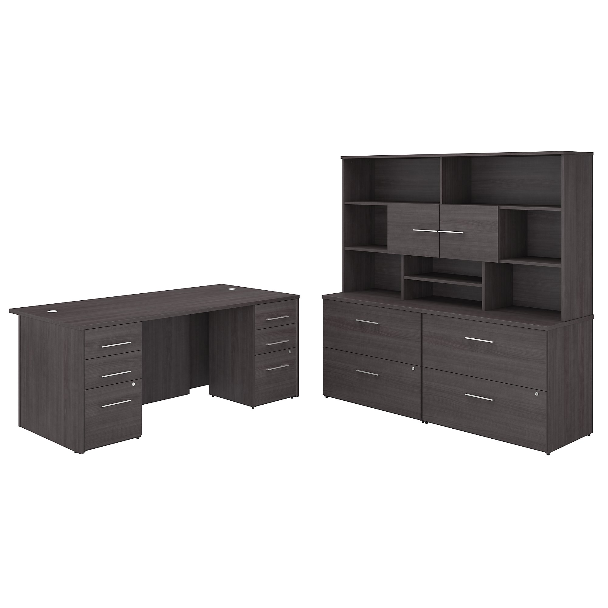 office 500 executive suite in storm gray