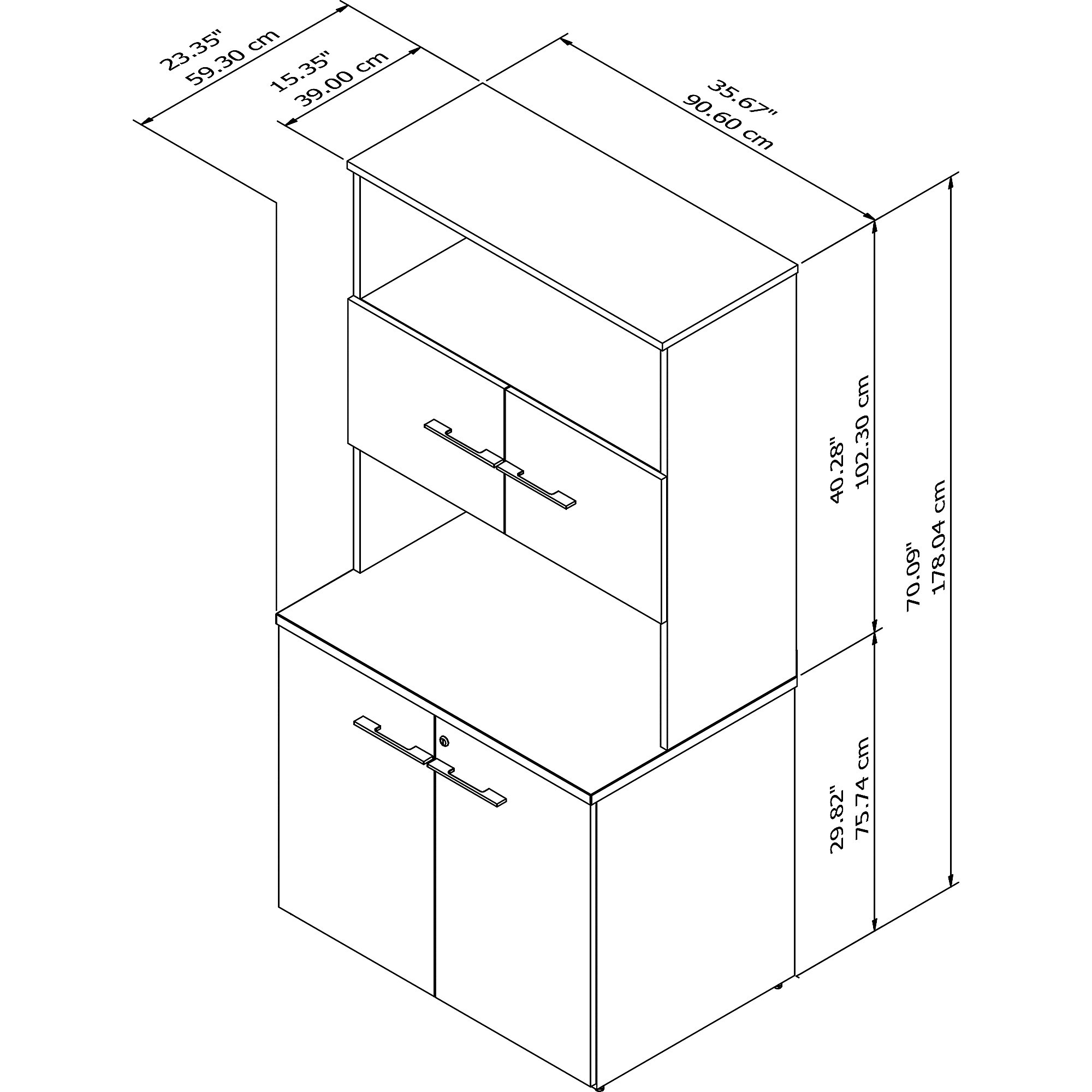 office 500 tall storage cabinet dimensions