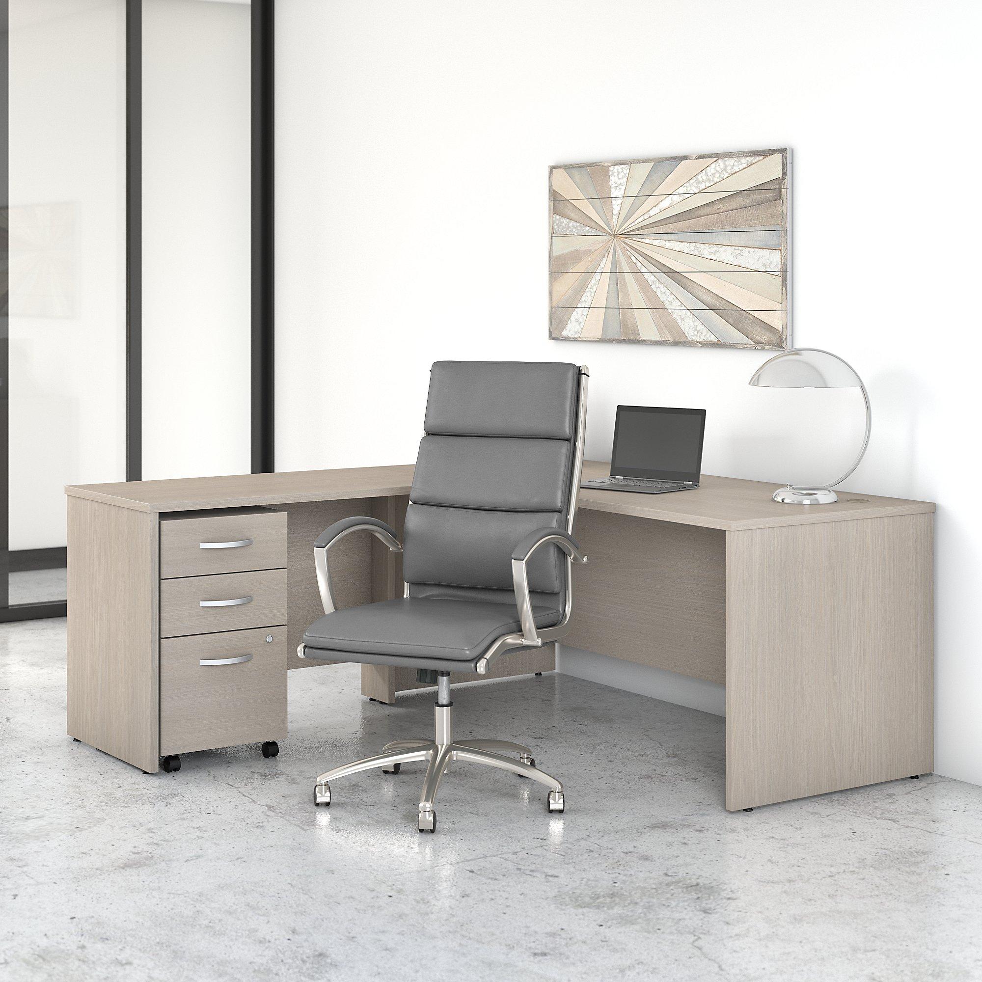 sand oak studio c l desk with chair