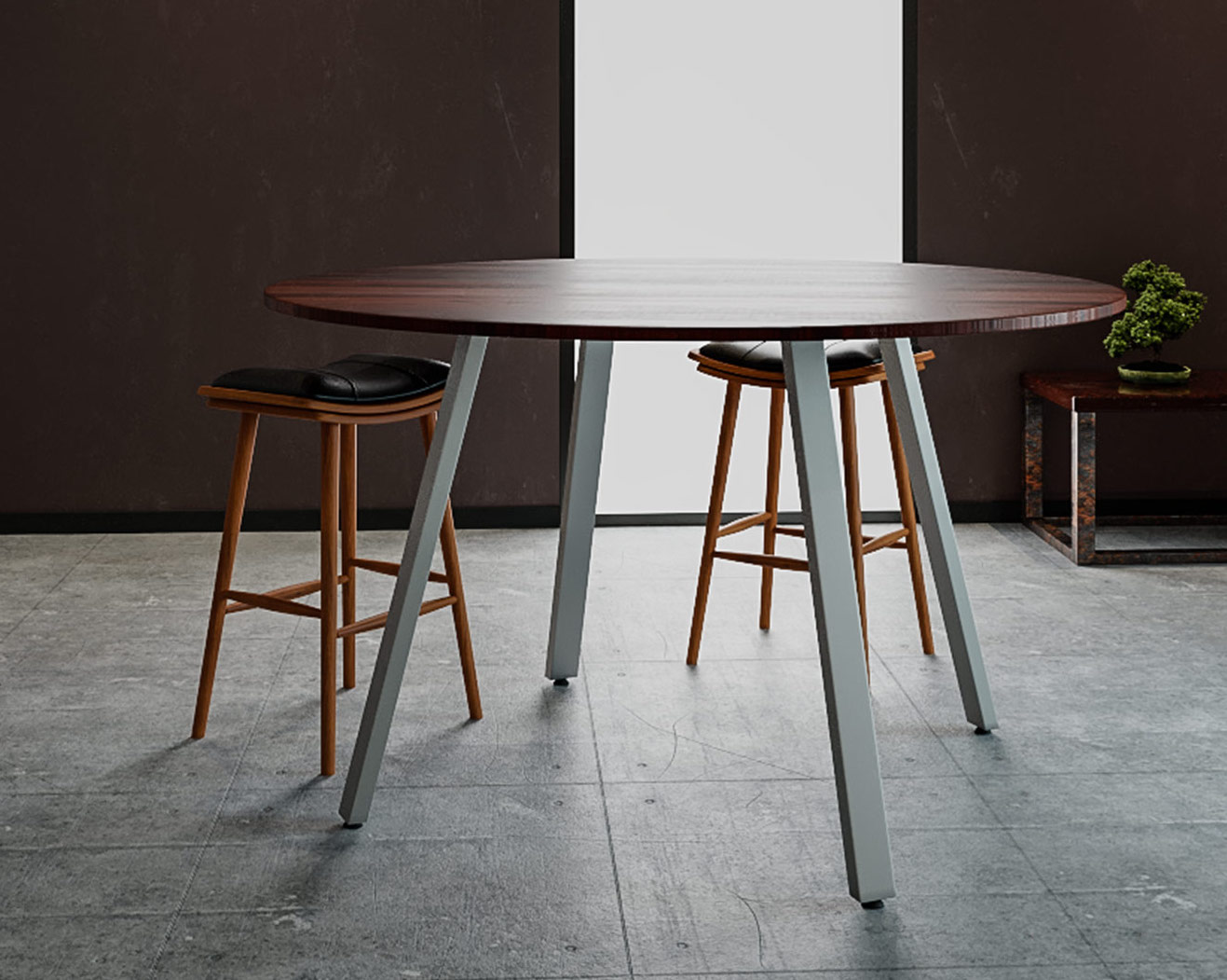 special-t aim xl standing height gathering table