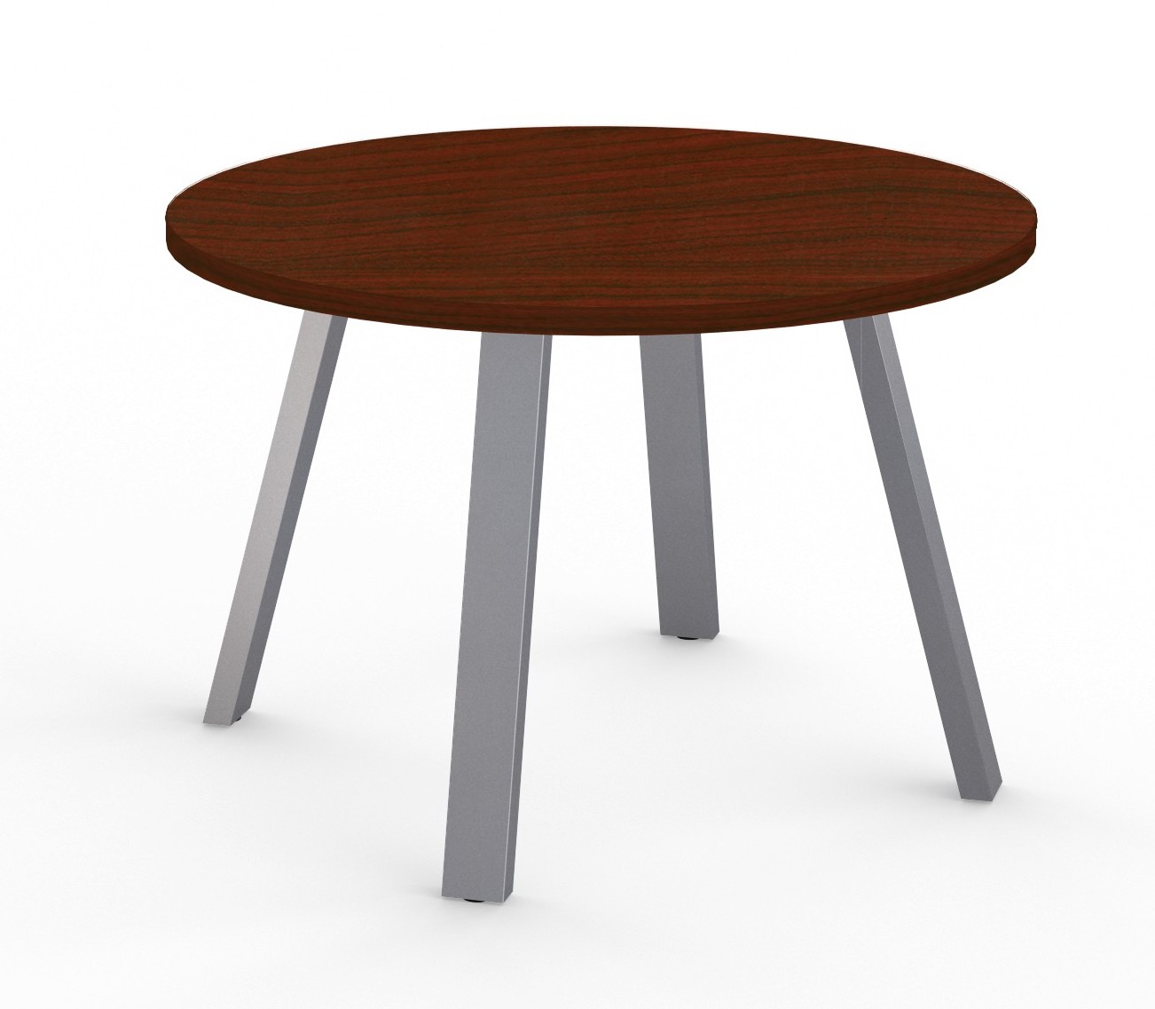 aim xl gathering table in empire mahogany
