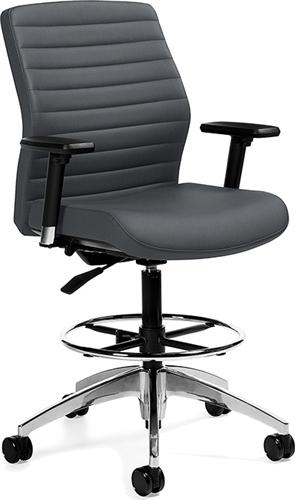 Global Aspen Series Drafting Chair 2858-6