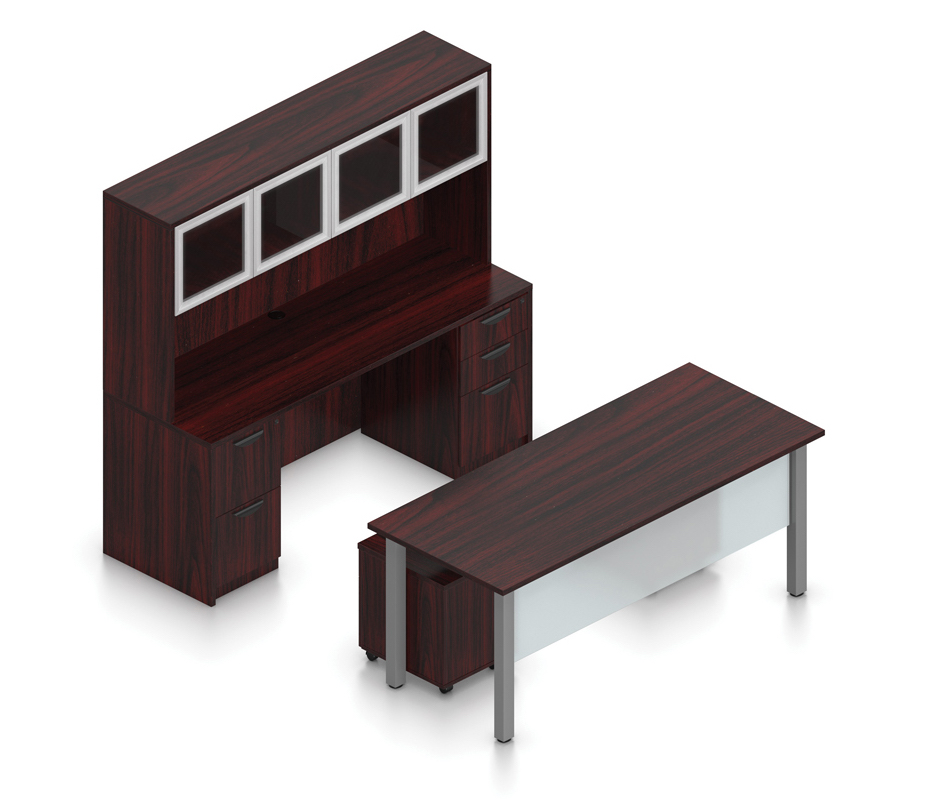 mahogany superior laminate executive suite