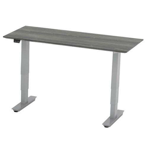 gray steel 3-stage height adjustable medina bridge