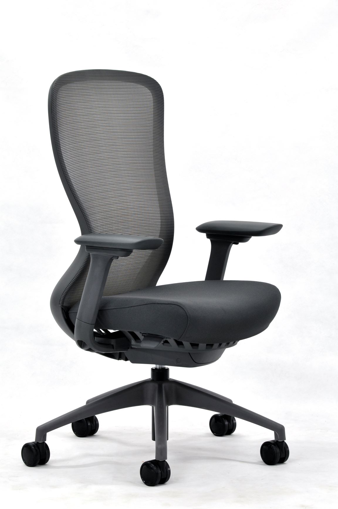 eurotech seating black exchange office chair