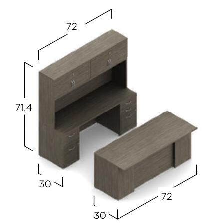 zira exec1 configuration dimensions