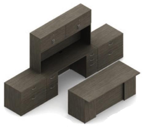 absolute acajou zira executive furniture set