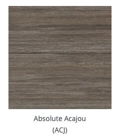 absolute acajou woodgrain finish