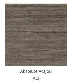 absolute acajou gray finish