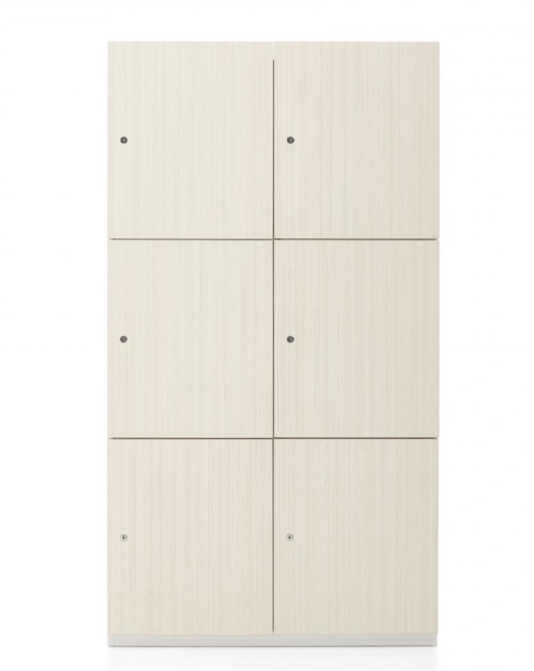 global 1200 series 6 compartment storage locker