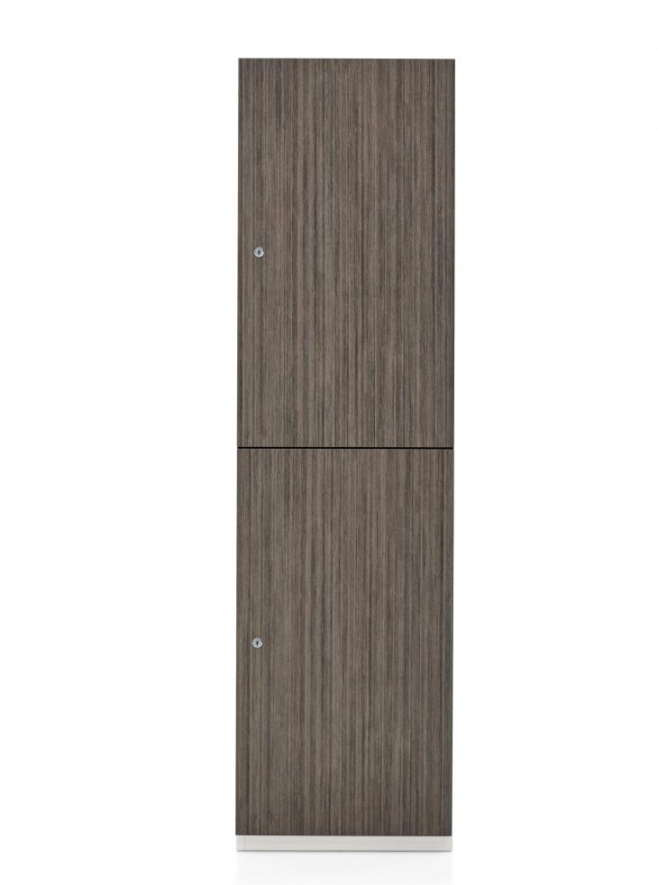 1200 series 2 compartment storage locker