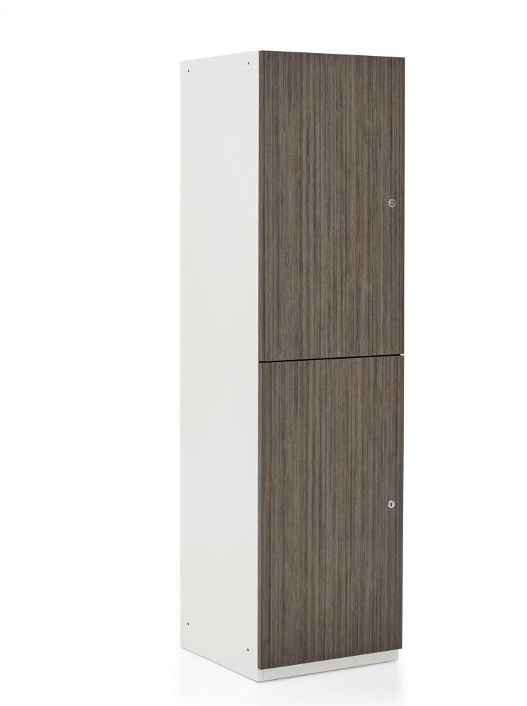 1200 series storage locker - angled view