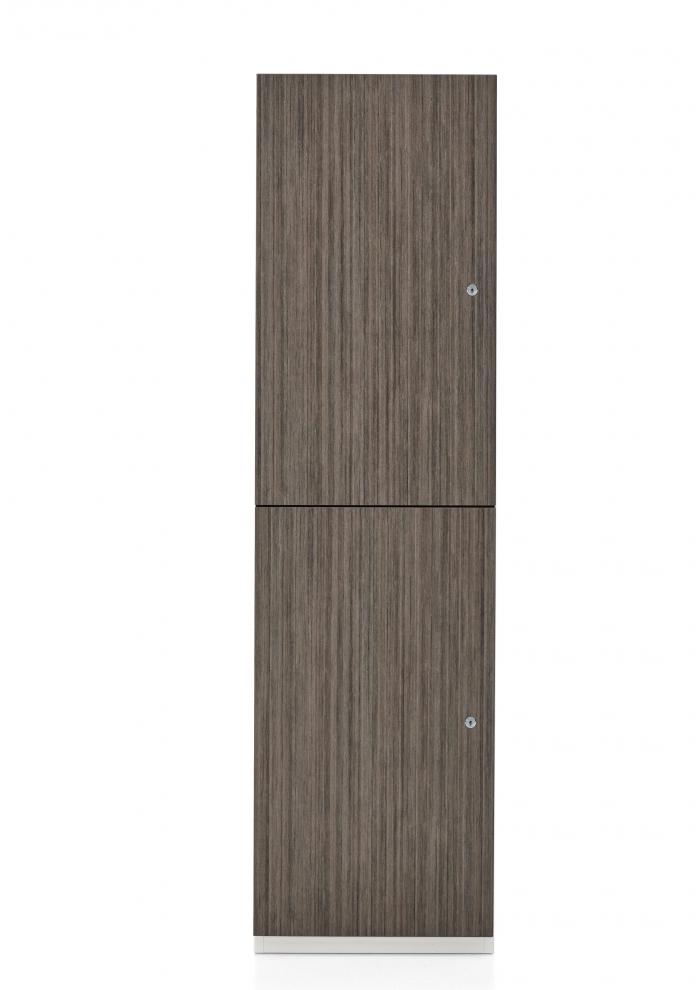 1200 series storage locker - side view