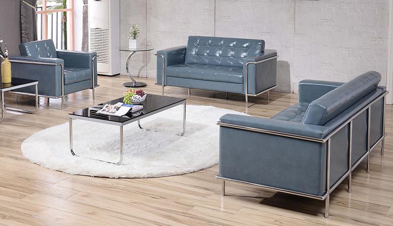 flash furniture lesley gray leather lounge furniture set