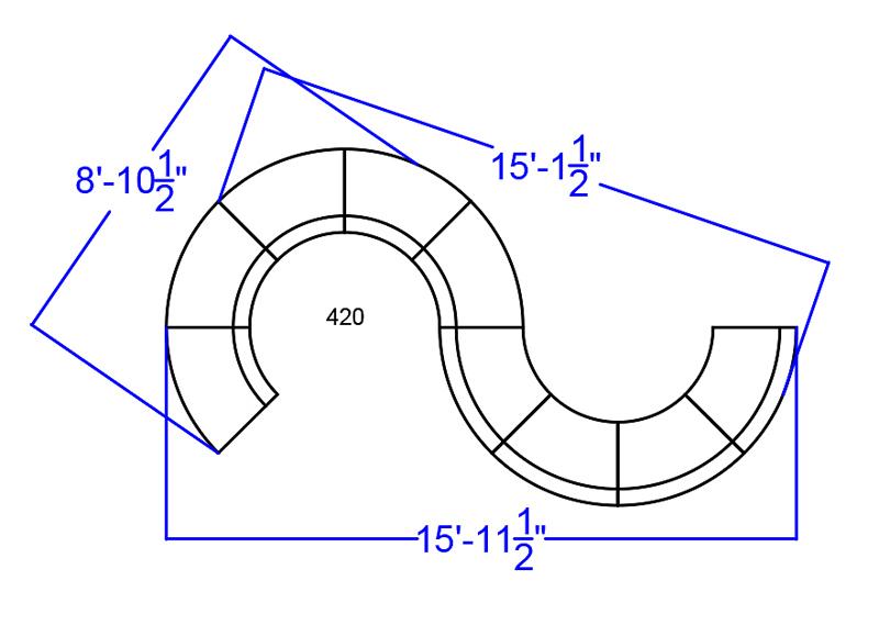 alon melrose white modular lounge seating set dimensions