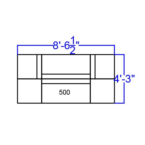 white alon series reception seating set dimensions