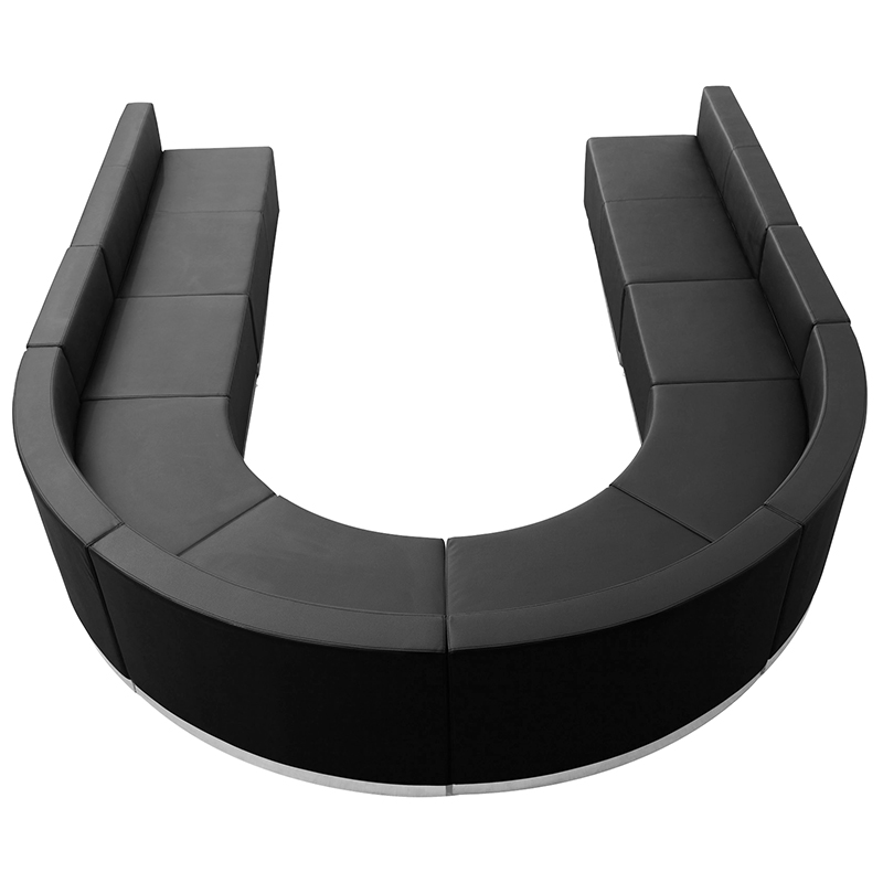 alon u shaped sofa seating set
